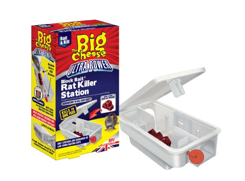 STV Ultra Power Block Bait Rat & Mouse Killer